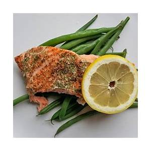 10-best-baked-salmon-and-green-beans-recipes-yummly image