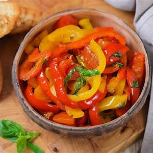 garlic-and-herb-sauted-bell-pepper-strips image