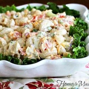 homestyle-macaroni-salad-melissassouthernstylekitchencom image