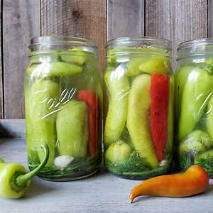 quick-easy-refrigerator-pickled-peppers image