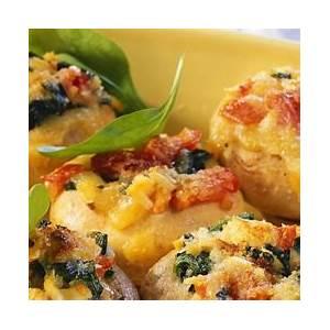 baked-cheesy-mushrooms-recipe-eat-smarter-usa image