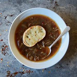 cooking-classics-french-onion-soup-with-bourbon image