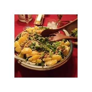 paula-wolferts-orange-romaine-and-walnut-salad-clay image