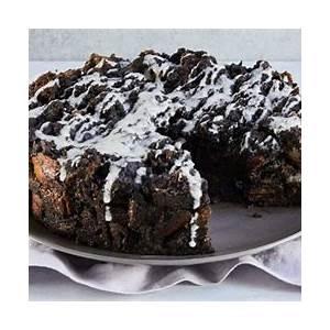 chocolate-bread-pudding-cake-recipe-purewow image